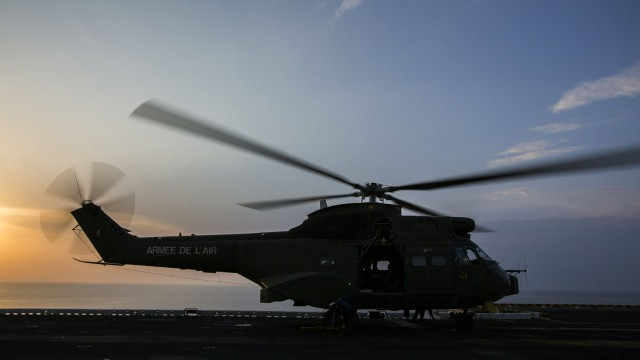 Empty vehicle helicopter