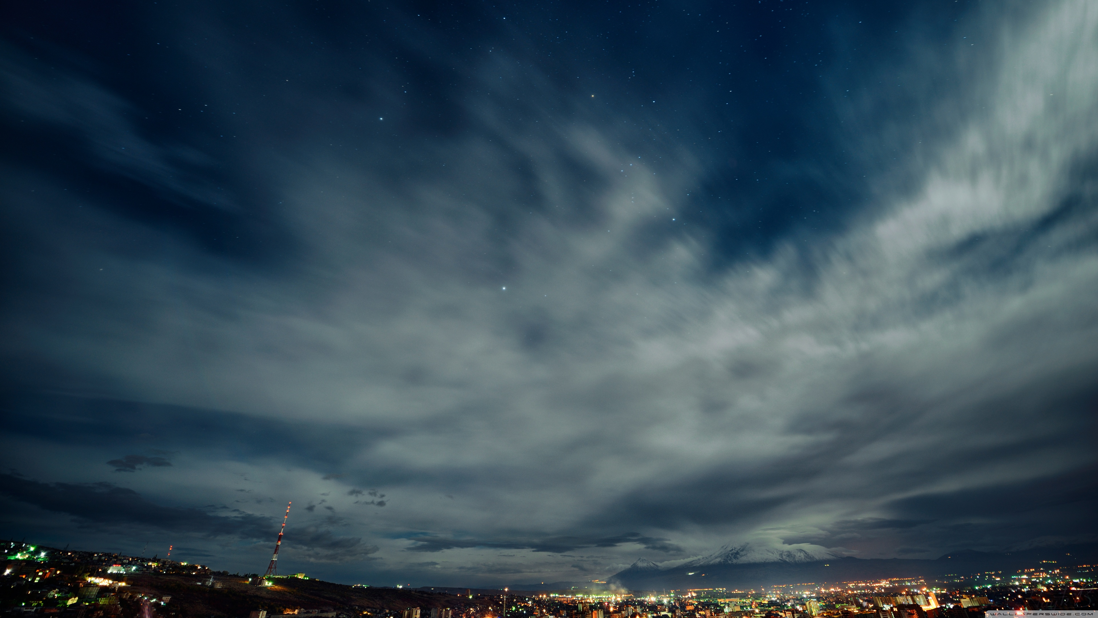 city night sky hd - photo #38