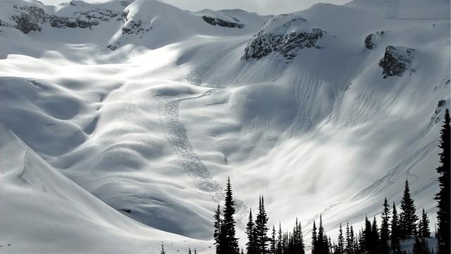 Landscape snow