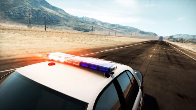 Landscape patrol car