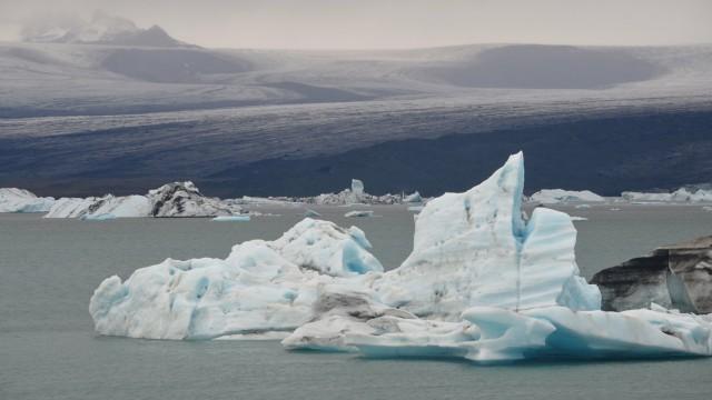 Landscape glacier snow