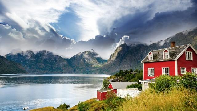 建物風景湖
