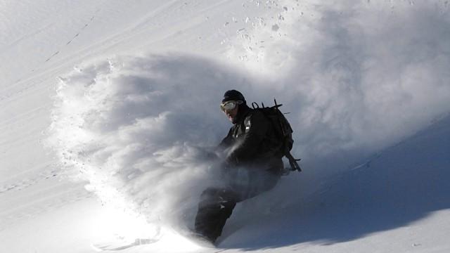 風景雪人物