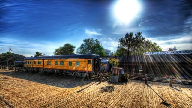 イラスト列車