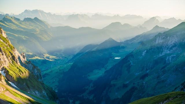 風景自然山