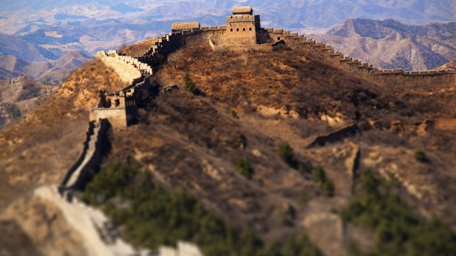風景万里の長城