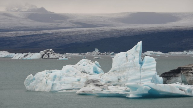 風景氷河雪