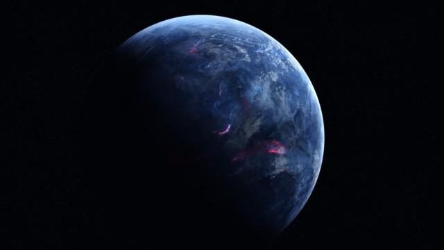 青星惑星地球黒